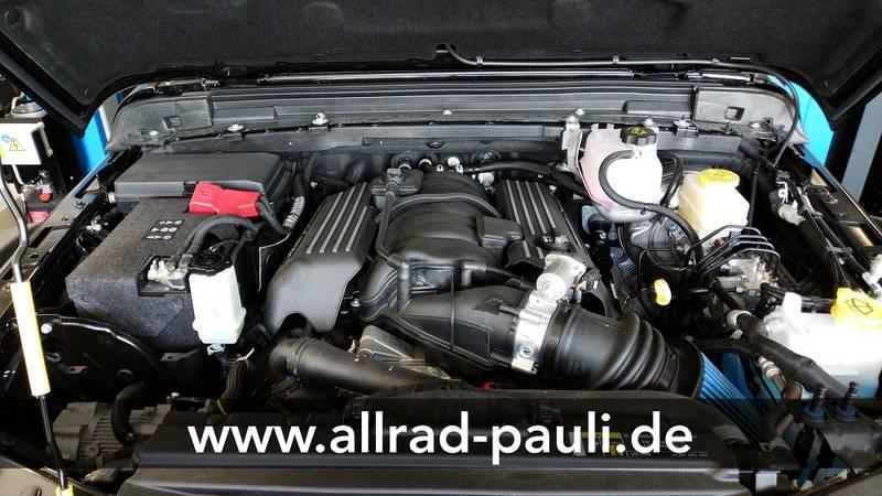 Jeep Wrangler Jl Und Jlu Hemi Umbau Hemi Conversion Allrad Pauli